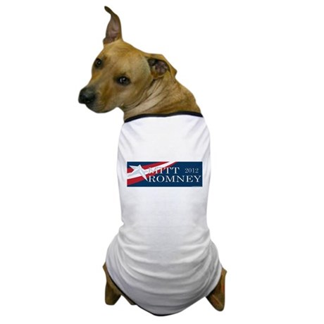 Mitt Romney 2012 Dog T-Shirt