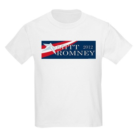 Mitt Romney 2012 Kids Light T-Shirt