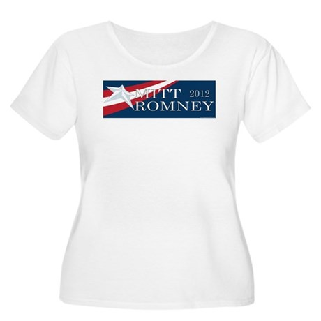 Mitt Romney 2012 Women's Plus Size Scoop Neck T-Sh