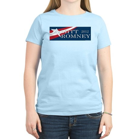 Mitt Romney 2012 Women's Light T-Shirt