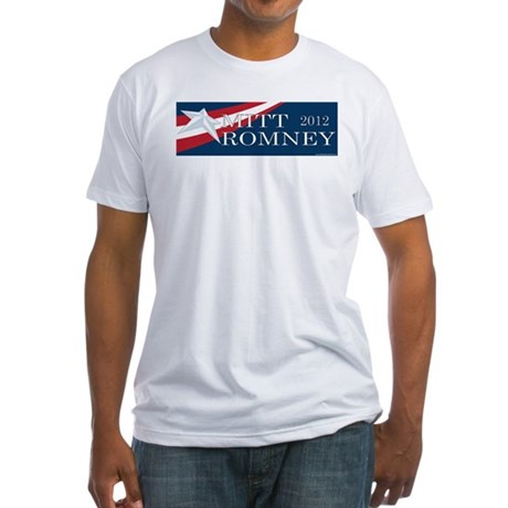 Mitt Romney 2012 Fitted T-Shirt