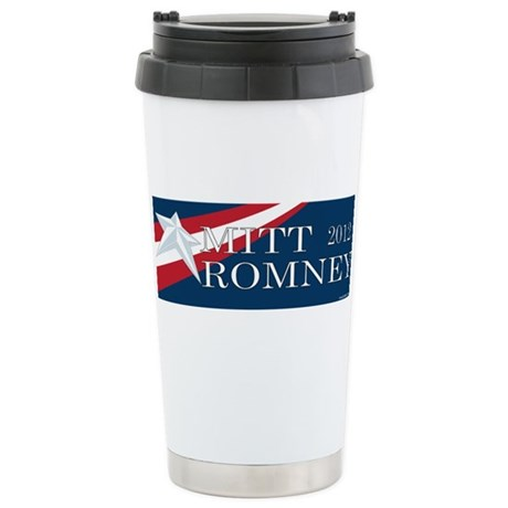 Mitt Romney 2012 Ceramic Travel Mug