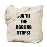 Jiggle Stopper Tote Bag