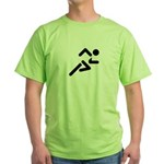 Jiggle Stopper Green T-Shirt