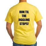 Jiggle Stopper Yellow T-Shirt