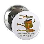 "Garden Tools 2.25"" Button (100 pack)"