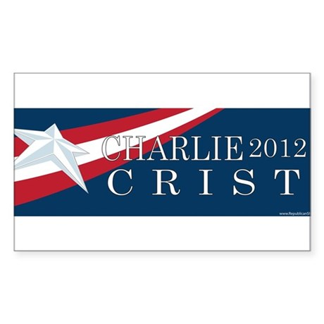 Charlie Crist 2012 Rectangle Sticker 10 pk)