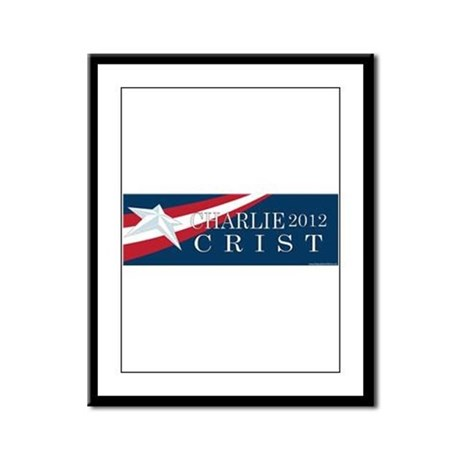 Charlie Crist 2012 Framed Panel Print