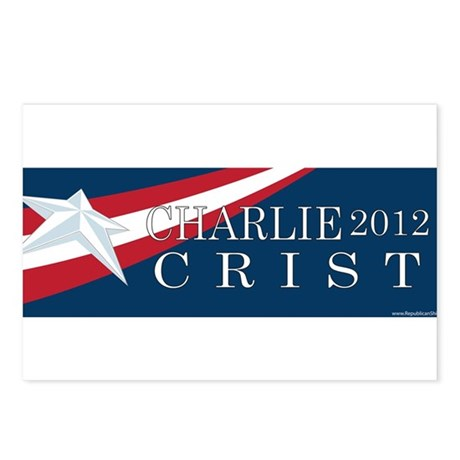 Charlie Crist 2012 Postcards (Package of 8)