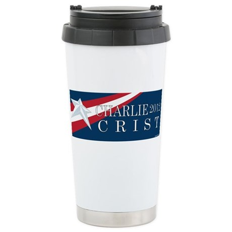 Charlie Crist 2012 Ceramic Travel Mug