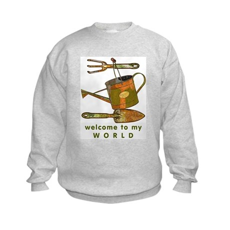 Garden Tools Kids Sweatshirt