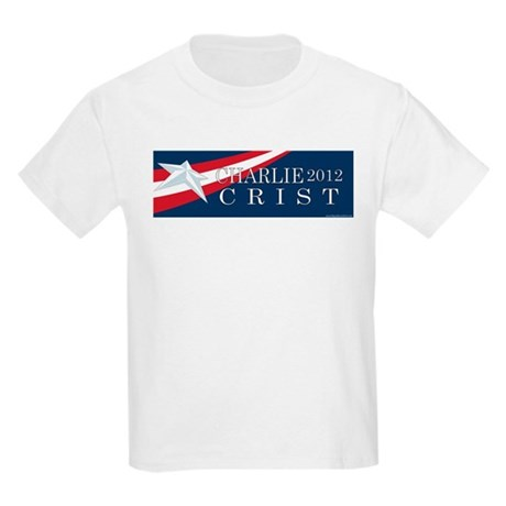 Charlie Crist 2012 Kids Light T-Shirt