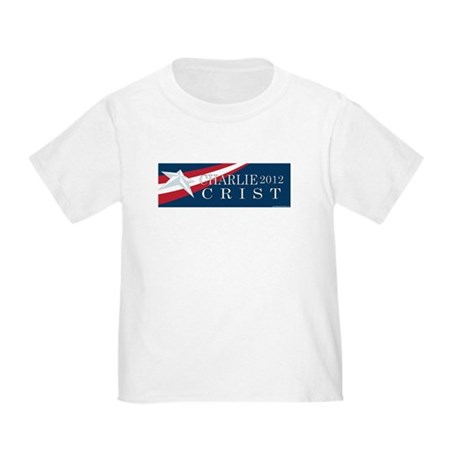 Charlie Crist 2012 Toddler T-Shirt