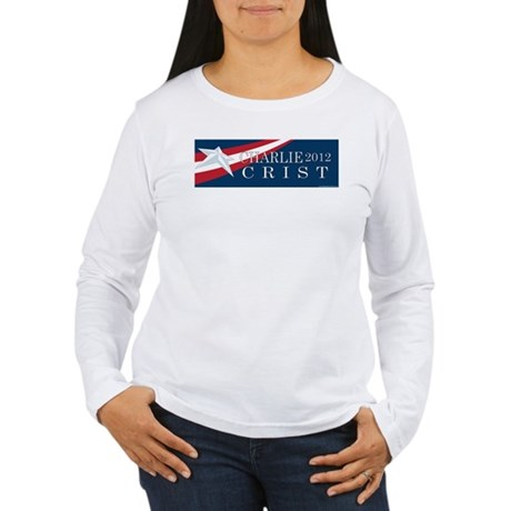 Charlie Crist 2012 Women's Long Sleeve T-Shirt