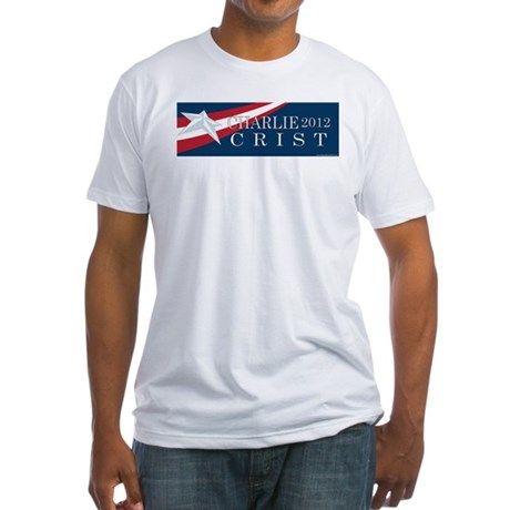 Charlie Crist 2012 Fitted T-Shirt