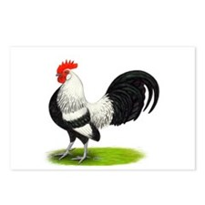 Dutch Silver Rooster Postcards (Package of 8)