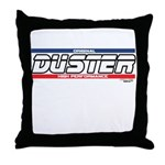 DusterX Throw Pillow