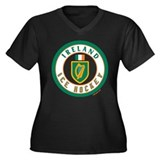 IE Ireland(Eire/Erin) Hockey Women's Plus Size V-N