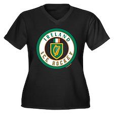 IE Ireland(Eire/Erin) Hockey Women's Plus Size V-N