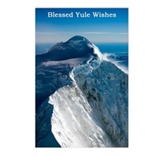 Snowy Yule Wishes Postcards (Package of 8)
