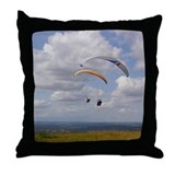 Tandem gliding Throw Pillow