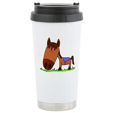 Ceramic Travel Mug Horse