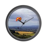 Cool Paraglider Wall Clock