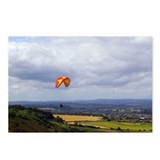 Cute Paragliding Postcards (Package of 8)