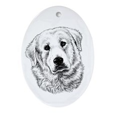 Kuvasz Oval Ornament