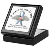 Cute Sudden infant death syndrome Keepsake Box
