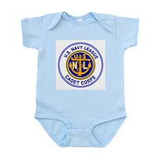 Navy League Color Infant Creeper
