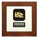 Cheese Lovers Framed Tile
