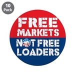 "Free Markets 3.5"" Button (10 pack)"