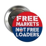 "Free Markets 2.25"" Button"