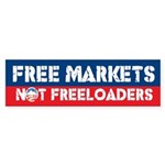 Free Markets Bumper Sticker (50 pk)