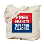 Free Markets Tote Bag