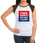 Free Markets Women's Cap Sleeve T-Shirt