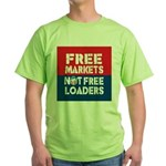 Free Markets Green T-Shirt