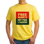 Free Markets Yellow T-Shirt