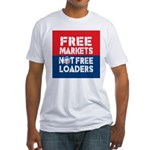 Free Markets Fitted T-Shirt