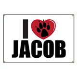 """I Heart Jacob"" Banner"