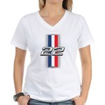 Cars 1922 Women's V-Neck T-Shirt