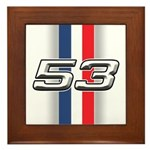 Cars 1953 Framed Tile
