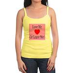 Love Me Or Leave Me Jr. Spaghetti Tank