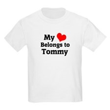 My Heart: Tommy Kids T-Shirt