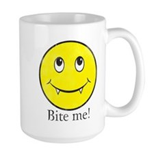 Cute Christmas happy face Mug