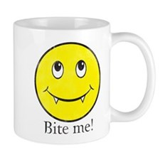 Cute Smiling wolf Mug