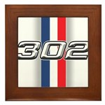 Engine 302 Framed Tile