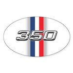 Engine 350 Oval Sticker (10 pk)