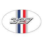 Engine 327 Oval Sticker (10 pk)